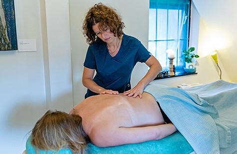 Sponsor een massage