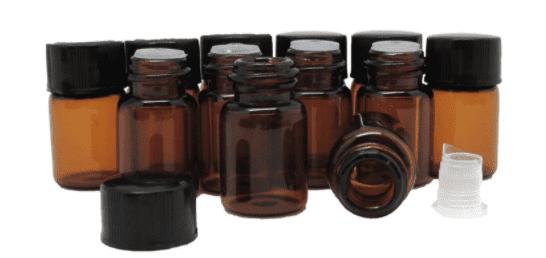 olieflesjes voor blend