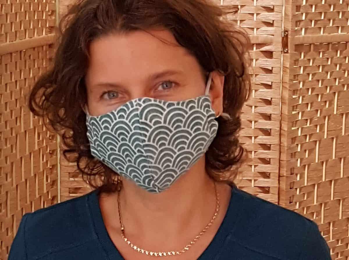 Hoe ik van mondkapje dragen aangename zelfzorg maak