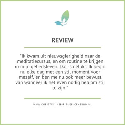 Review meditatie cursus
